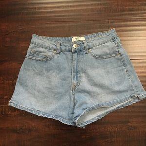 Forever 21 blue mom shorts